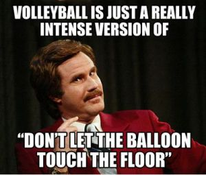 volleyball is just a really intense version of