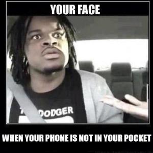 your face no phone